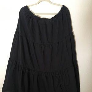 Bohemian Black Skirt